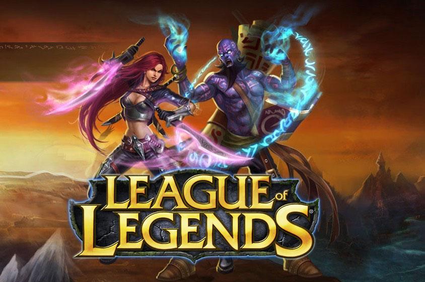 League of legends — Игра от создателей Dota!