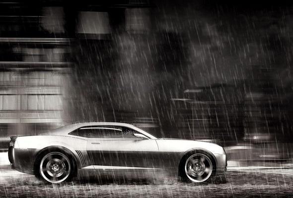 Движение в дождливую погоду