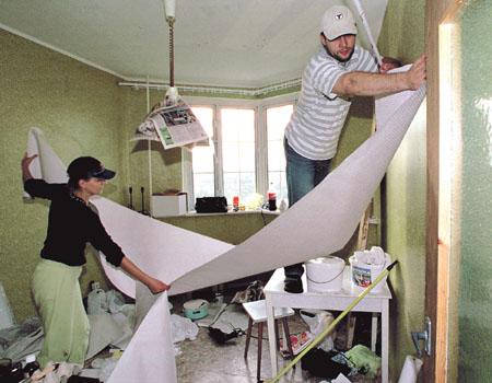 Как пережить ремонт членам семьи