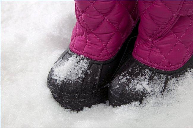 Советы при выборе зимней обуви для ребенка
