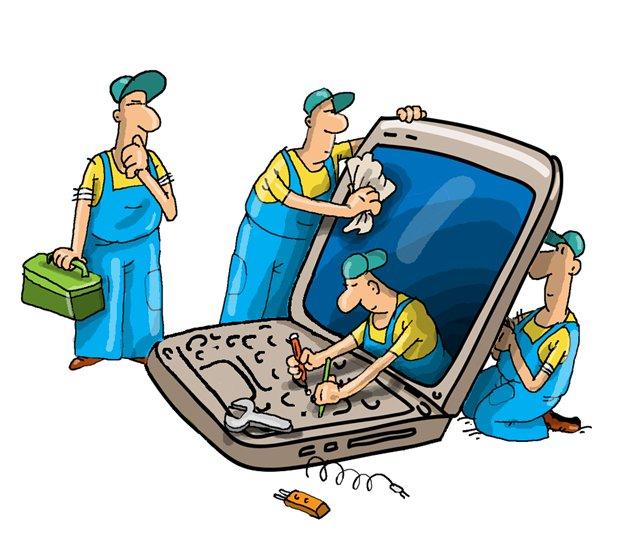 Ремонт ноутбука: сервисный центр или вызов мастера на дом