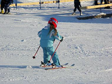 Выбрать детские лыжи