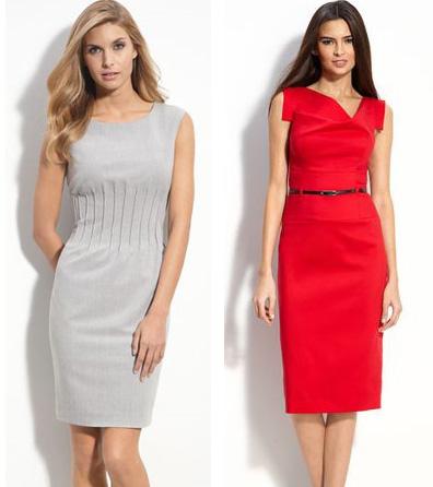 Стильные советы : Как носить платье-футляр