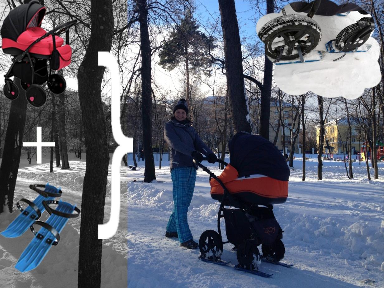 подготовить детскую коляску к зиме
