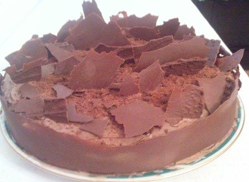 Шоколадный торт «Мокко»