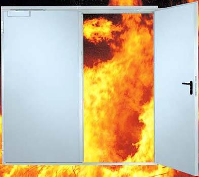Технология установки противопожарных дверей