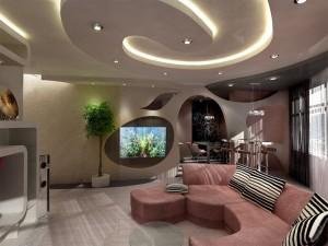 Современные тенденции в дизайне гостиной
