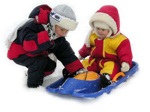 выбор зимней куртки для ребенка