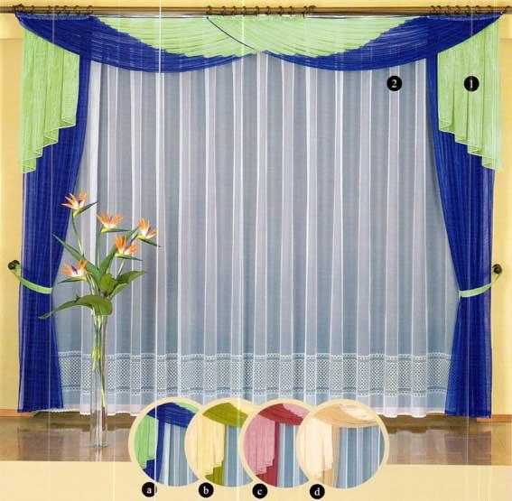 Выбор штор для гостиной комнаты