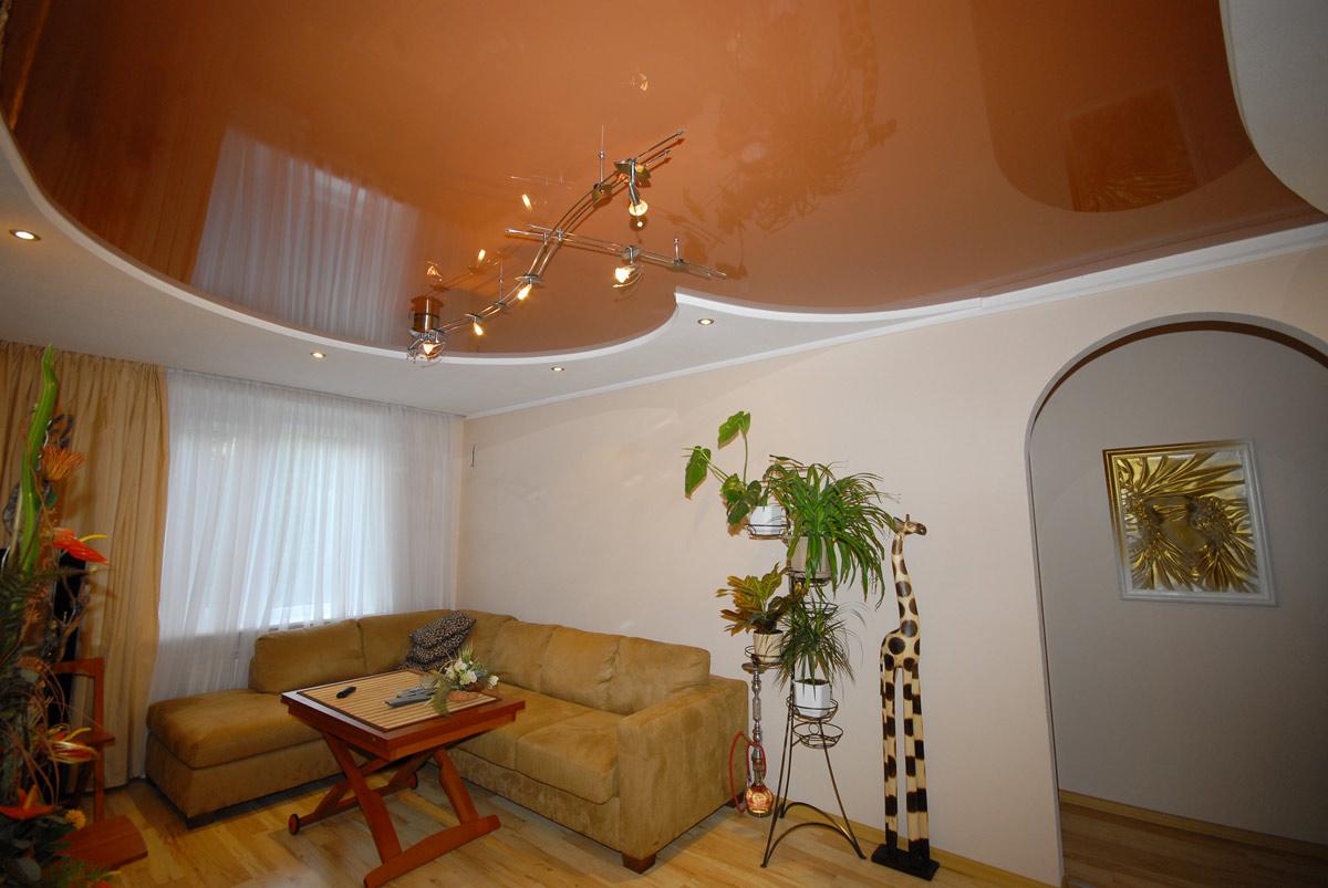 Что выбрать глянцевый или матовый натяжной потолок