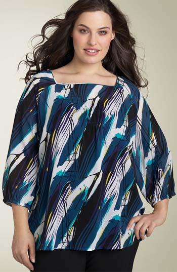 Советы по выбору блузок для полных женщин