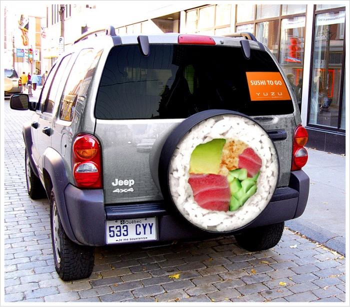 Как оформить доставку суши на дом