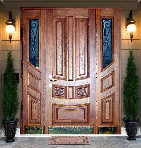 Какими должны быть парадные двери — советы и секреты