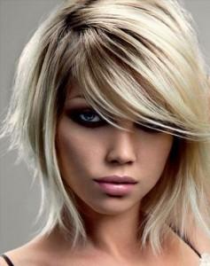 стрижки для средних волос