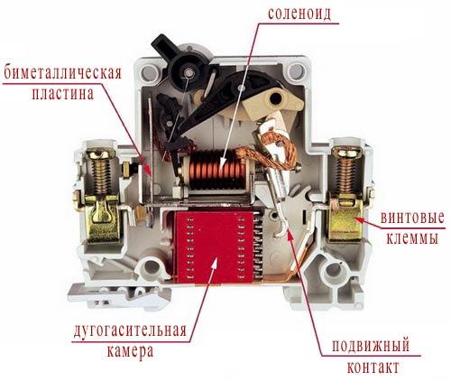Как подключить автоматический выключатель