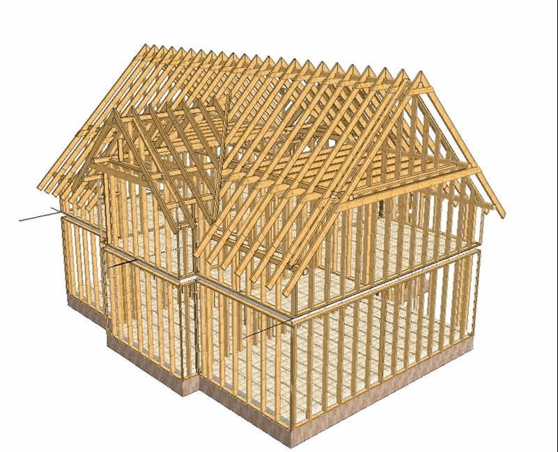 Строим каркасный дом самостоятельно