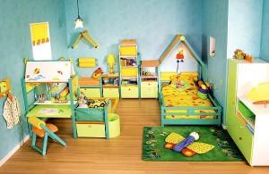 правильно оформить детскую комнату