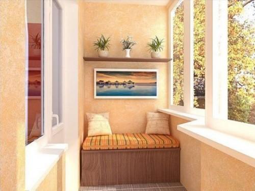 Советы по внутренней отделке балкона