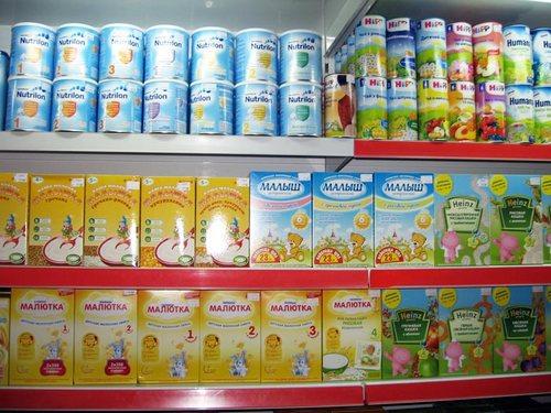 Советы при покупке молочной смеси для ребенка