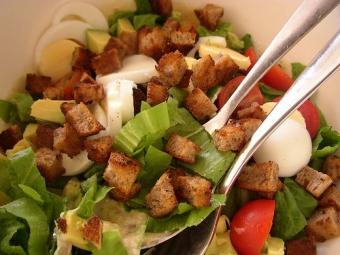 Рецепт салата «Цезарь»