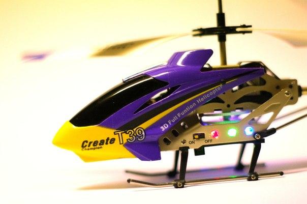 Как управлять радиоуправляемым вертолетом