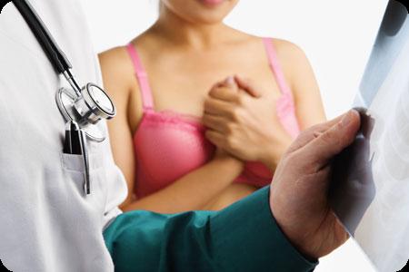 Правильный массаж груди при лактостазе