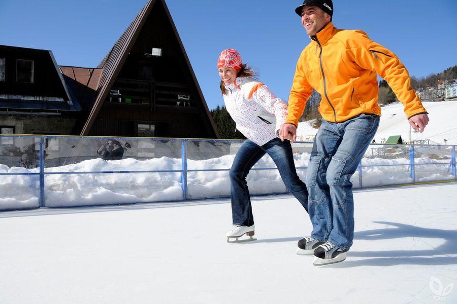 Как научиться кататься на коньках