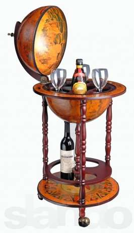 Как сделать глобус-бар