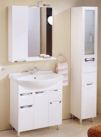 Советы по выбору мебели в ванную