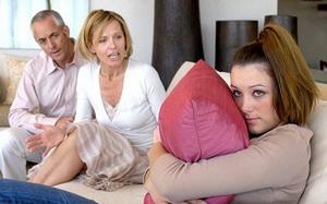 сообщить родителям о своей беременности