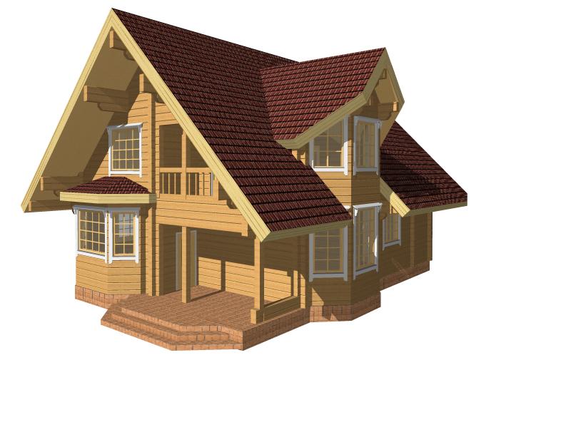 Советы тем, кто строит дома из бруса