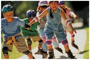 выбрать роликовые коньки для детей