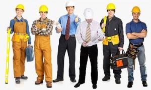 нанять рабочих для ремонта