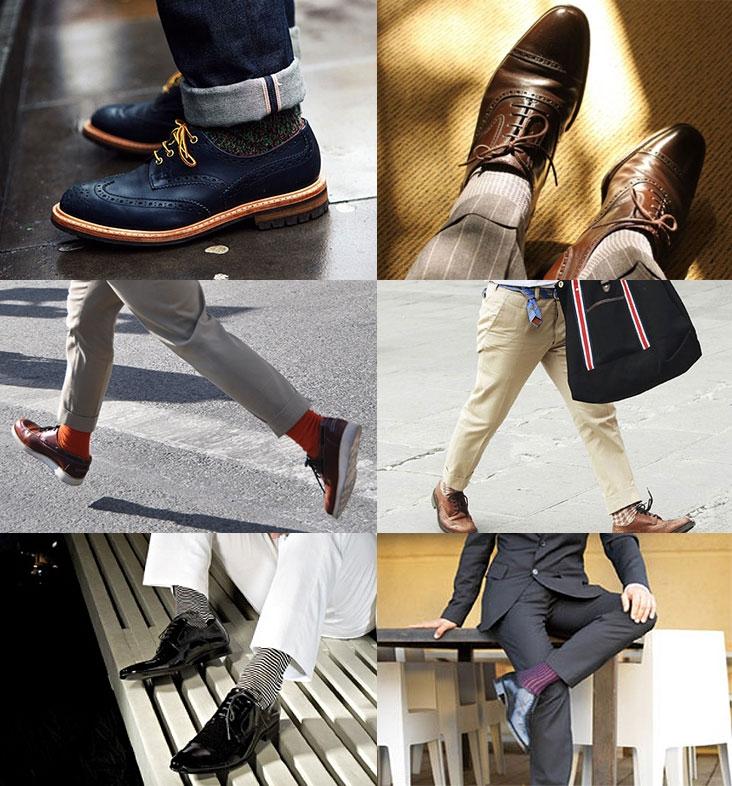 Как верно подобрать носки и обувь