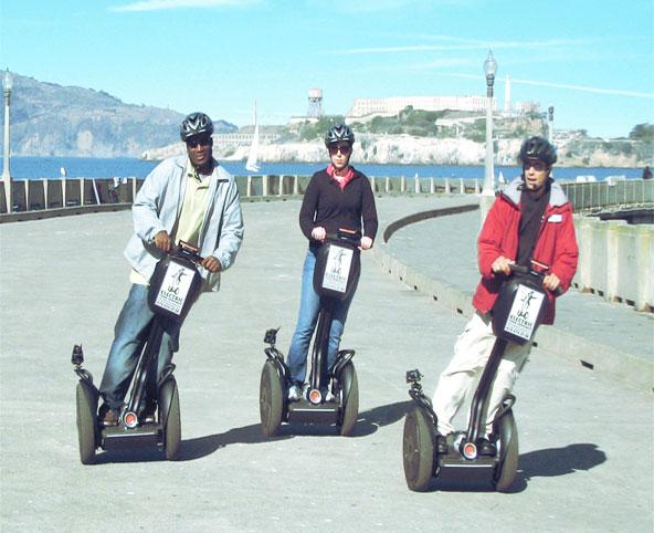 Необходимые правила при управлении скутером Segway