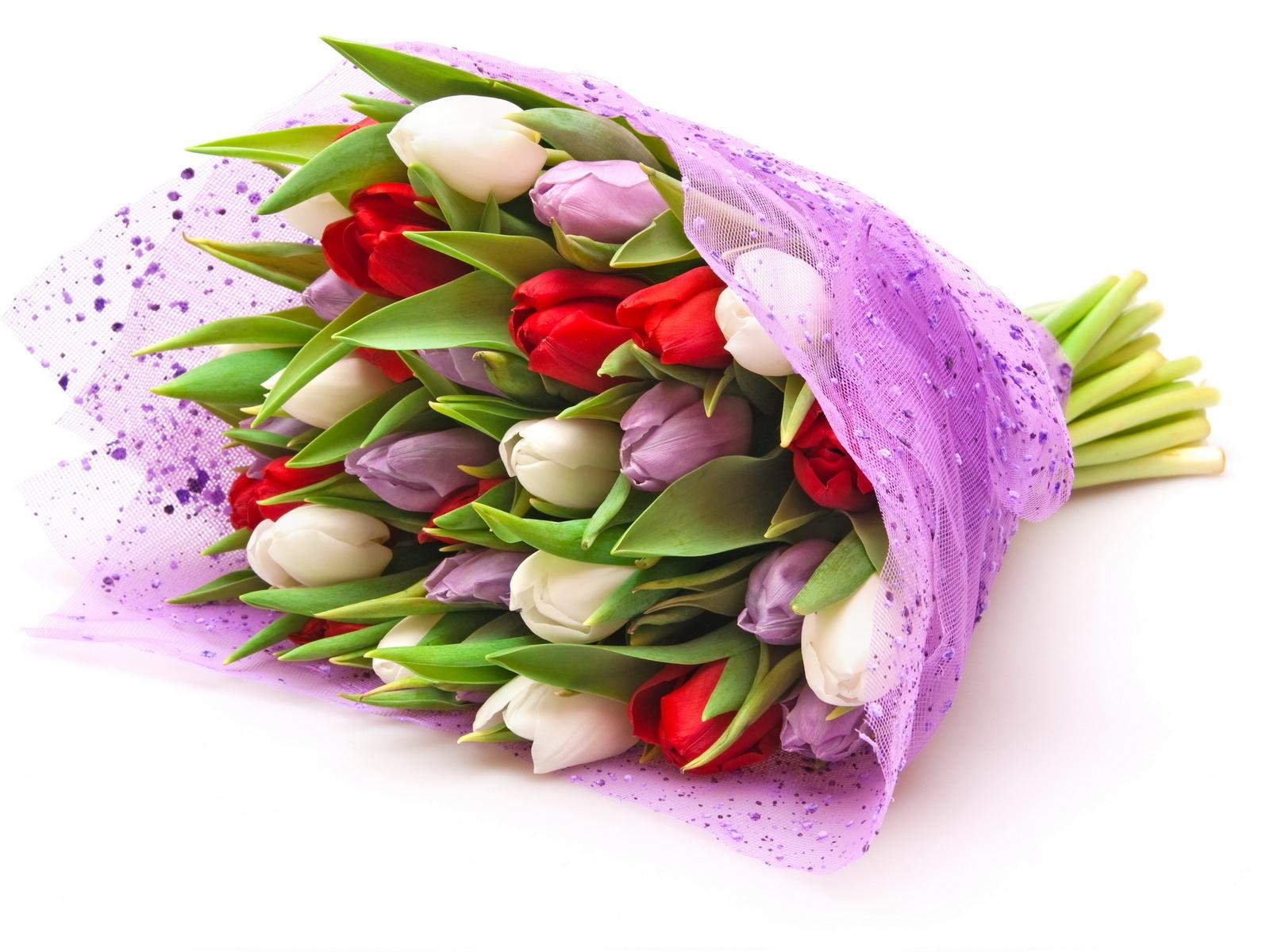 Как сохранить букет из тюльпанов