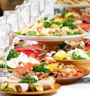 Как выбрать меню для свадебного банкета