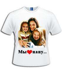 фото печать на футболках