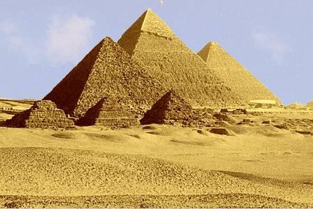 Кто построил пирамиды в Египте