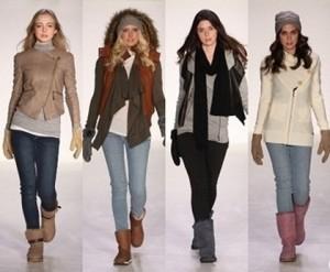 носить угги зимой