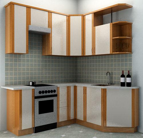 Как рационально использовать место на угловой кухне