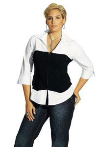 Советы по выбору блузки для полных женщин