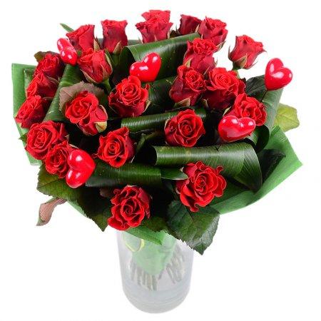 Как выбрать букет ко Дню Святого Валентина