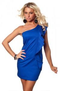 Какой маникюр сделать под синее платье