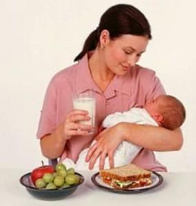 Питание матери во время грудного кормления