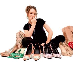 выбрать обувь