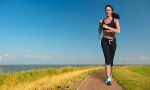 дышать во время бега