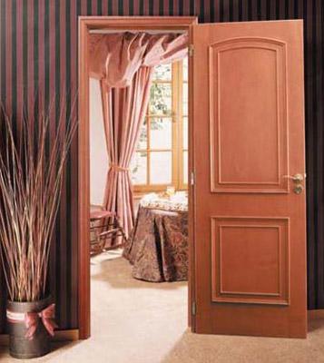 Как выбрать двери из шпона
