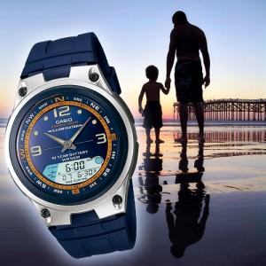 часы Casio fishing gear