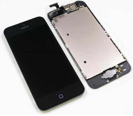 Как поменять дисплей на iPhone 5S